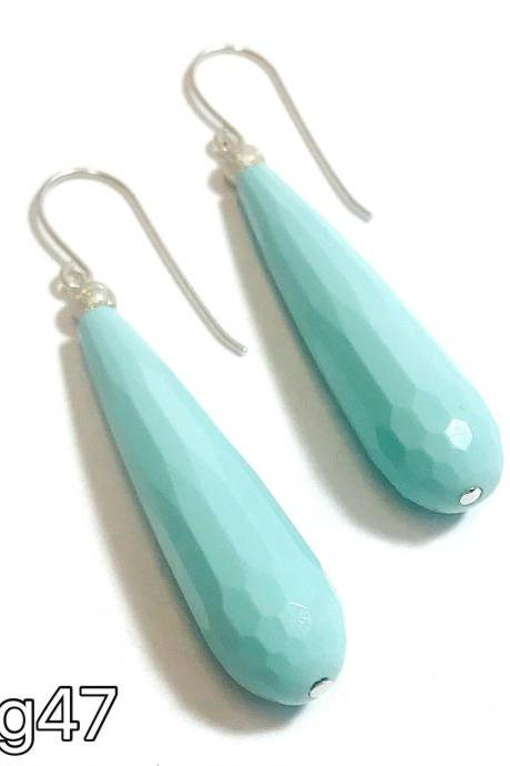 Turquoise - silver 925 earrings