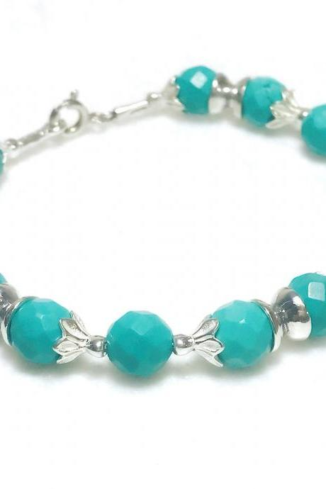 Turquoise - silver 925 bracelet for women - exclusive